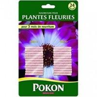 Bâtonnets engrais plantes fleuries 24 pcs
