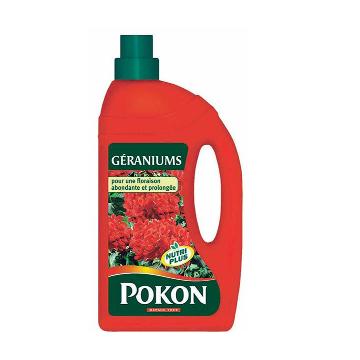 Engrais Géraniums liquide 1L POKON
