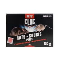 Raticide polyvalent Rats & Souris fomat pâte huilée